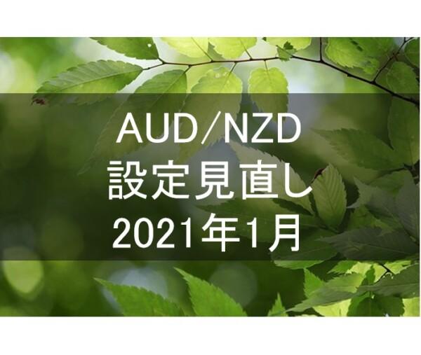 AUD/NZDの設定更新(2020年12月31日)。バックテストによる最新の利回りは26.3%になりました。